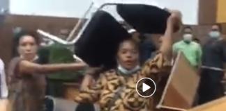 Timor Parliament clash
