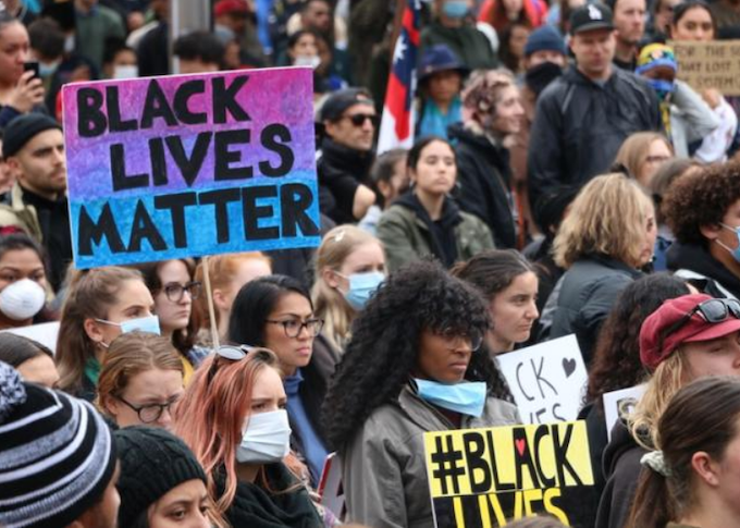 Police rule out legal action against NZ black solidarity protest organisers