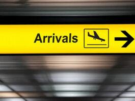 International arrivals NZ