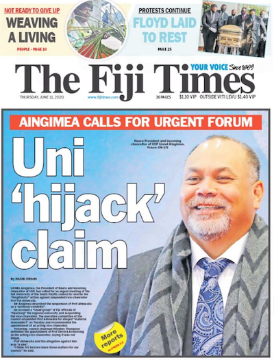 The Fiji Times 11-06-2020
