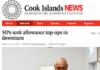 Cook Islands News article 19-6-20