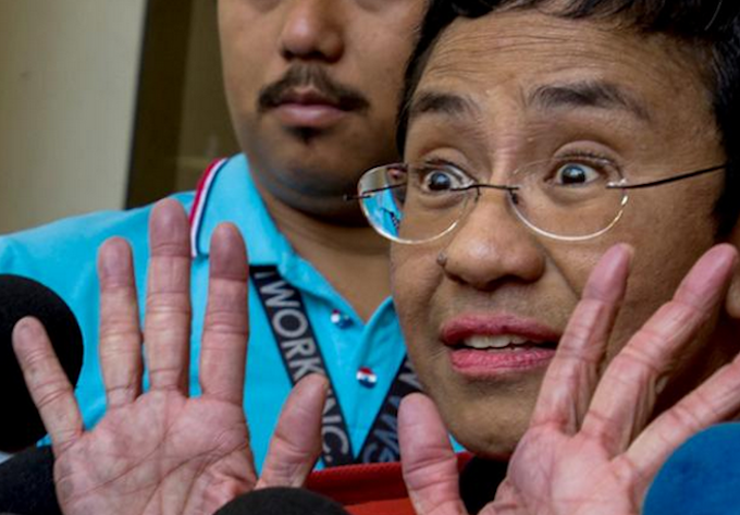 RSF brands Maria Ressa's conviction as 'masquerade' amid global criticism