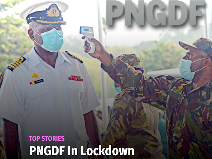 PNG Defence Force in lockdown over fears of coronavirus spread