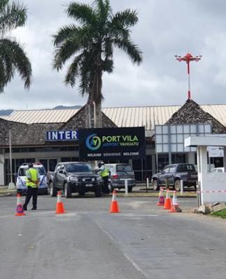 Port Vila's Bauerfield Airport