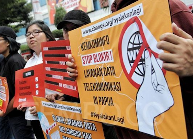 Jakarta files appeal against court's ruling on Papua internet blackout
