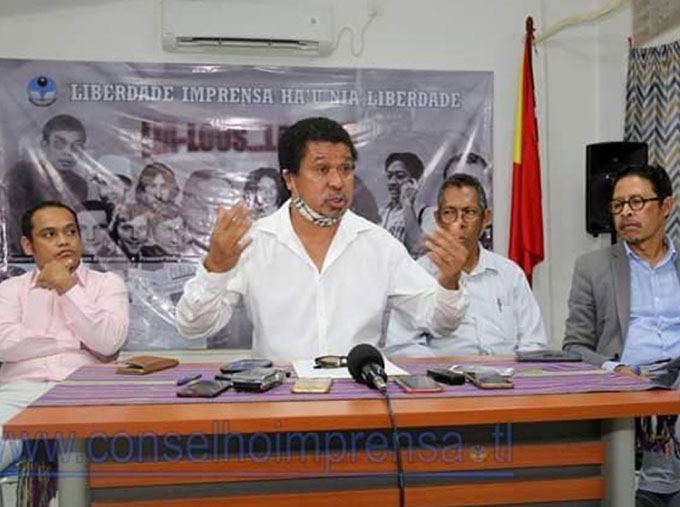 Media rights groups protest against Timor's draft defamation law