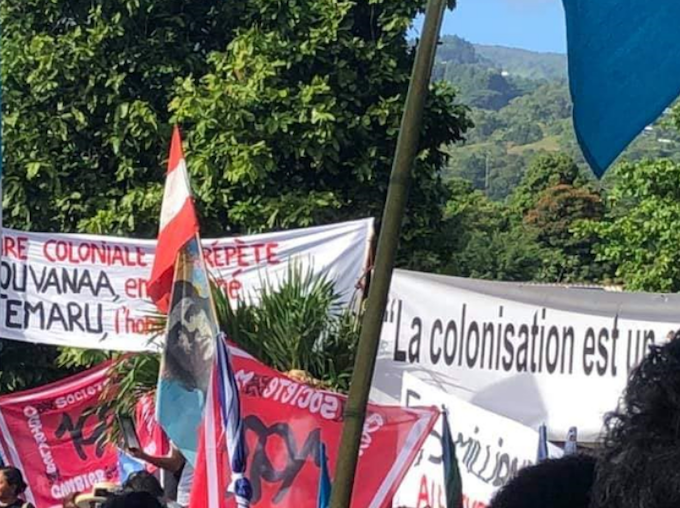 Pacific churches add 'justice for Mā'ohi' voice at Tahitian rally