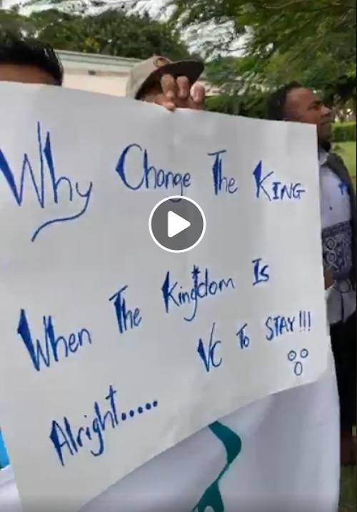 USP campus protest