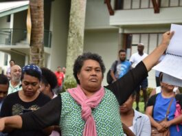 USP student and staff protest