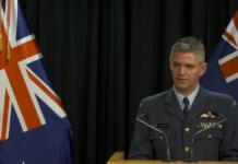 Air Commodore Darryn Webb