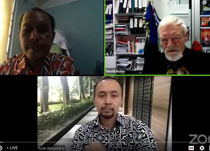 Webinar panel on Papua sharply divided over media 'black hole'