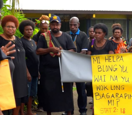 Madang GBV protest