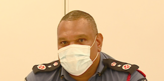 PNG Pandemic Controller David Manning