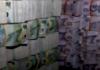 Seized PNG money