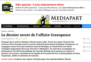 Greenpeace affair