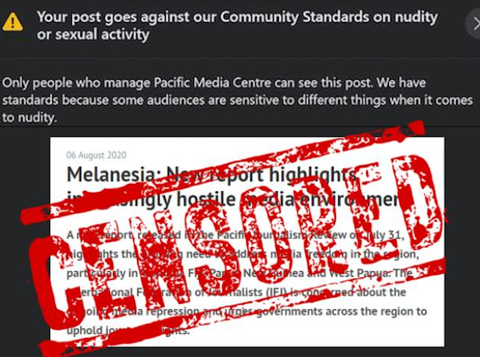 RSF calls on Facebook to restore censored Papua press freedom article