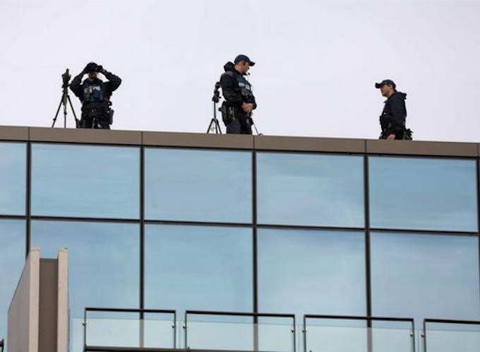 NZ police snipers