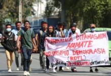 Timor-Leste protest