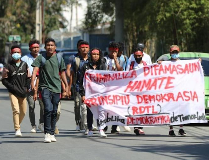 Timorese journalists protest over plan to turn defamation into crime