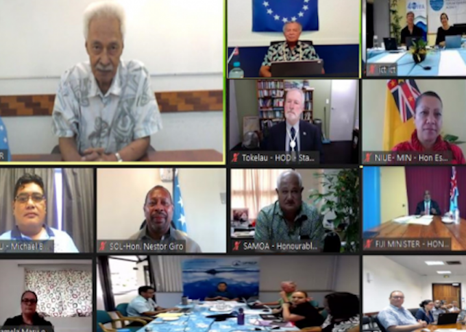 Virtual ministerial fisheries meeting voices concerns over 'state of Pacific'