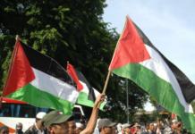 Pro-Palestine protest Jakarta