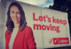 NZ election 2020 hoarding