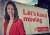 NZ election 2020 hoarding