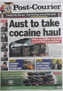 PNG cocaine haul
