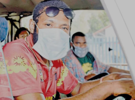 Bus driver Mark Duma