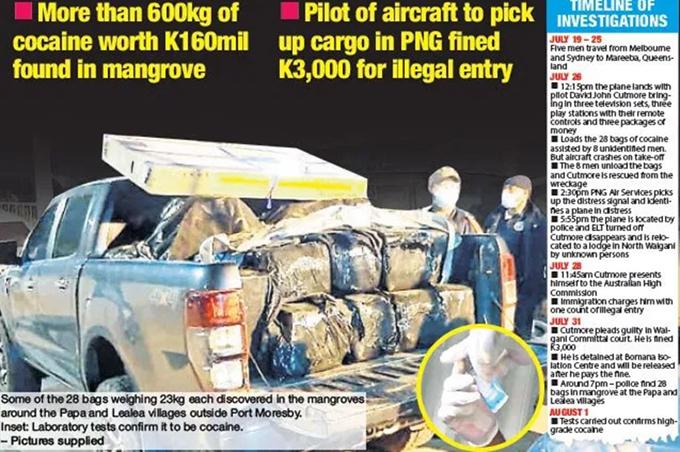PNG drug bust