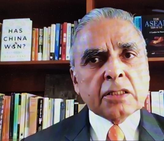 Professor Kishore Mahbubani