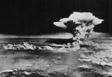 Hiroshima atomic cloud