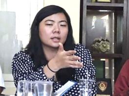 Human rights lawyer Veronica Koman