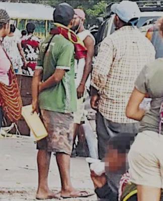 Boroko scene