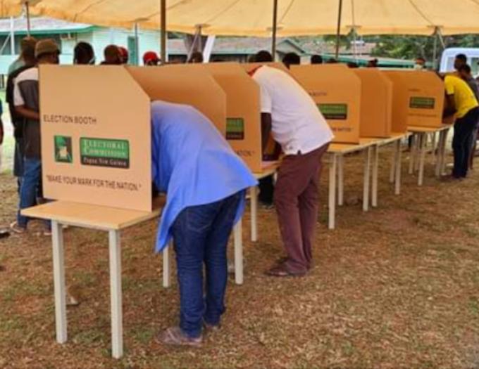 Former BRA commander again leading in Bougainville presidential contest