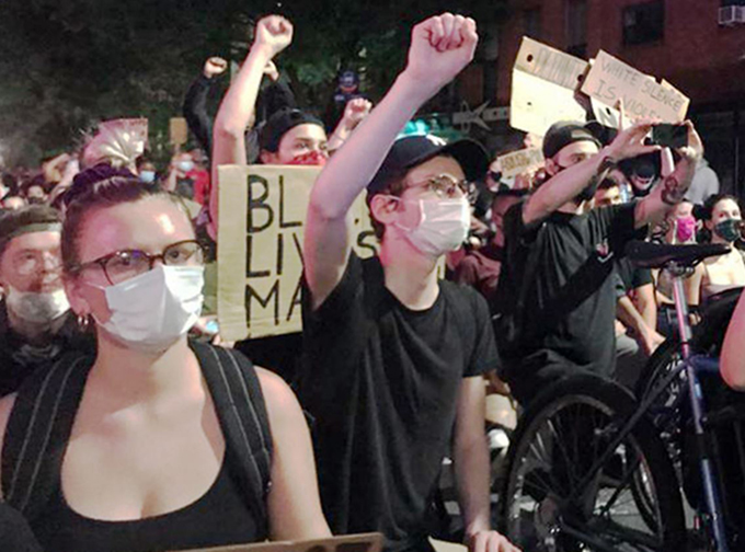 Brooklyn protesters