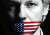Julian Assange USflag