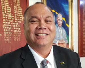 Nauru President Lionel Aingimea