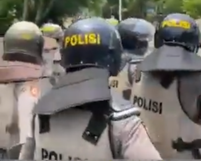 Armed Indonesian police break up Papuan protest at university