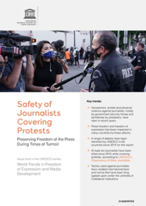 UNESCO Safety of Journalists report
