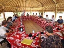 Union meeting Tahiti