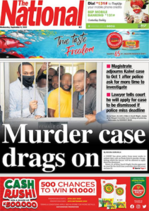PNG murder case drags on