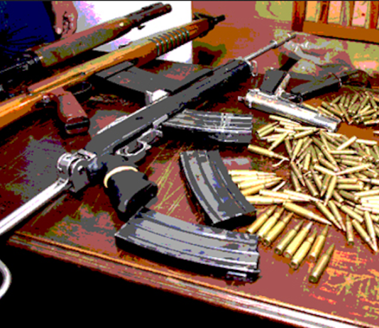 Smuggled PNG weapons