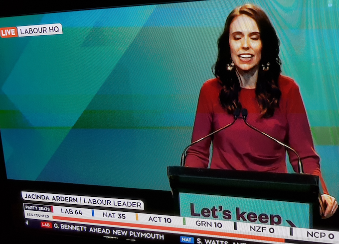 'We will … govern for every New Zealander', says Labour's Ardern