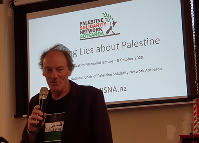 John Minto: The truth behind the lies being told about Palestine