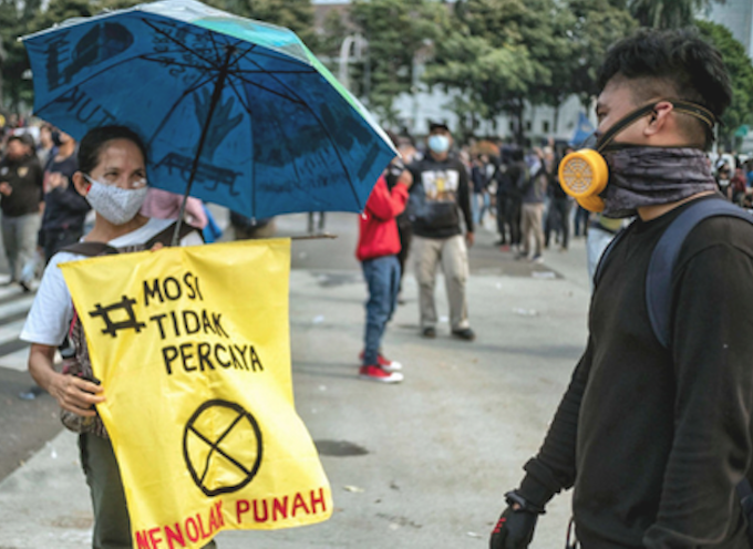Environmental movement condemns Indonesia's 'betrayal of the people'
