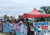 Wafi-Golpu tailings protest