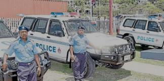 PNG new police vehicles