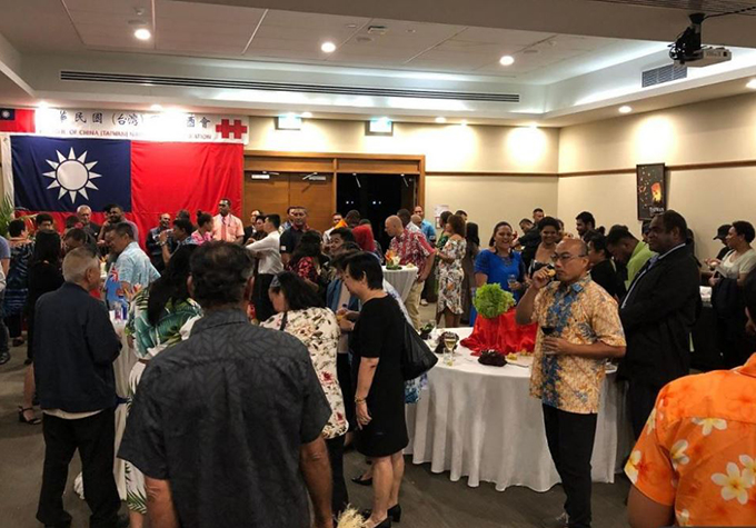 Chinese diplomatic gatecrash incident alleged at Taiwan event in Suva