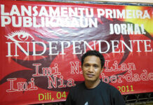 East Timor's Independente